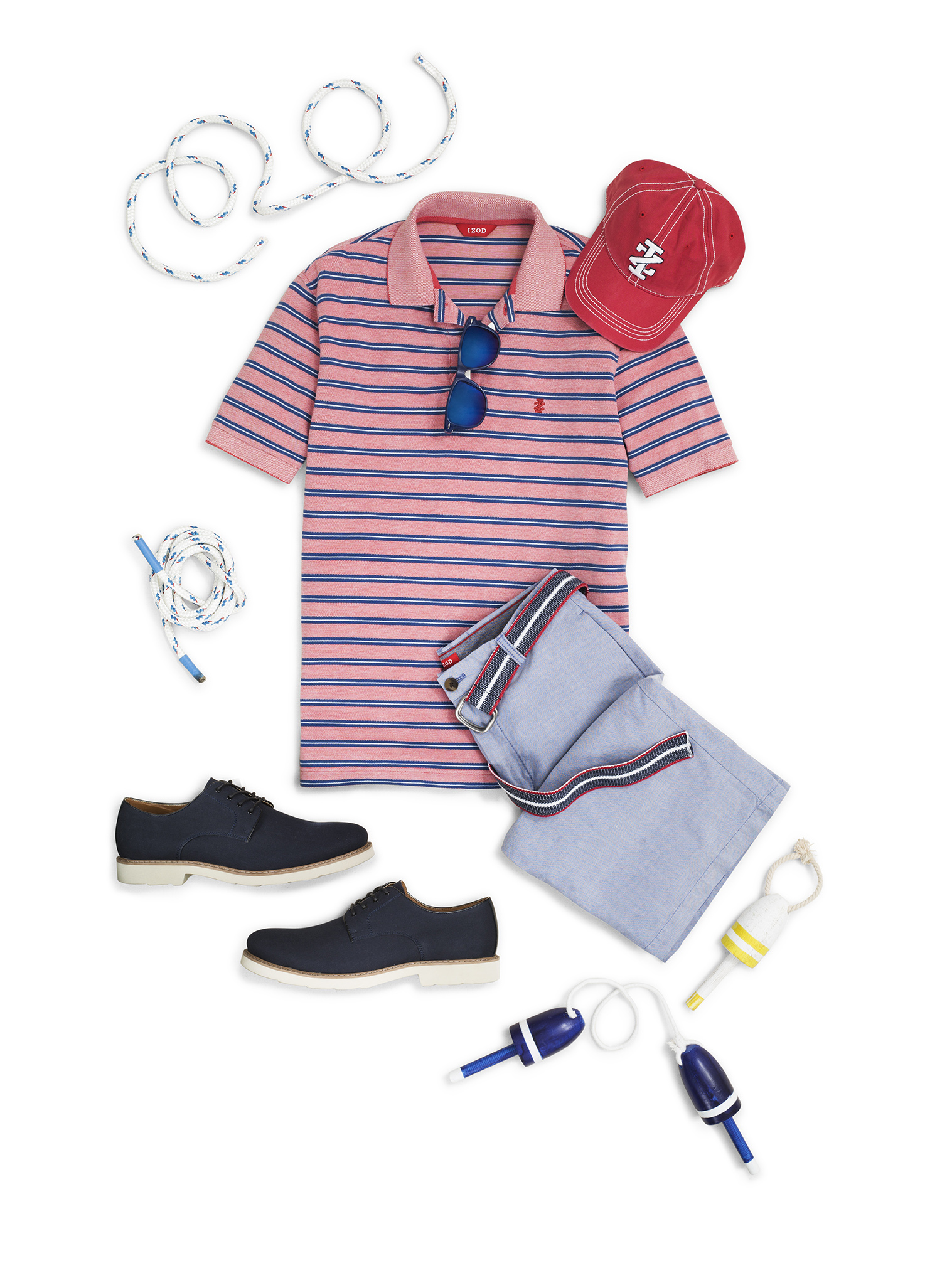 IZOD_Oxford_Polo_Short_Look_fnl copy